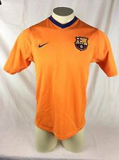 FBC Barcelona 19 Messi Nike V Neck Jersey Chest Patch Mens Medium