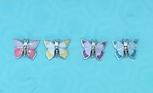 Origami Owl Butterfly Charm - Pink, Yellow, Purple, Teal - New