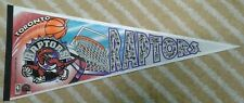 Vintage Toronto Raptors Full Size NBA basketball Pennant first year dated 1994