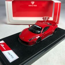 1/64 Scale LB Works LB 458 Red Duck Tail Ltd 999 pcs