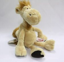 NICI Camel Brown Stuffed Animal Plush Toy Dangling 10 inches