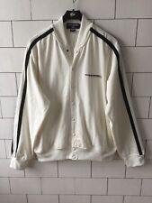 Para Hombre Rara Vintage Retro Ralph Lauren Sport Sudadera Suéter Popper Chaqueta RU L