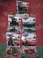 Disney Pixar Cars Die-cast Cars Set Of 5