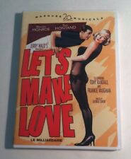 Lets Make Love (DVD, 2006 Marquee 20th Century Fox Musicals) Marilyn Monore