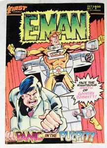 First Comics E-MAN  Vol. 1 Nr. 7 aus 1983 . TOP