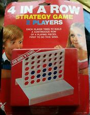 Vintage 4 IN A ROW Travel Game NEW Sealed Rare 1983 Tomland industries