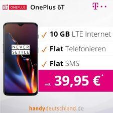 ❤️ OnePlus 6t Dual-SIM | Telekom Vertrag + 5 GB LTE | nur 39.95 € mtl. ❤️