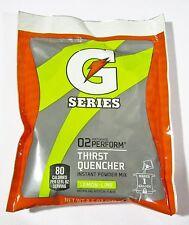 Gatorade G Series 02 Perform 8.5 oz. Powder Mix makes 1 Gallon - Lem/Lime 3 Pack