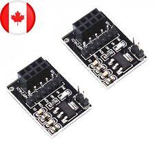 NRF24L01+ Transceiver Module 5V to 3.3V Power Regulator Adapter - 2 Pack