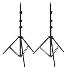 2x Foldable Studio Photography Flash Light Stand Support Tripod Softbox Umbrella