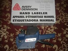 Avery Dennison 106 pricing label gun single line new in box with manual