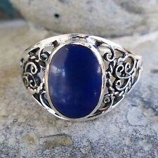 Markenlose Damen-Echtschmuck mit Lapis Lazuli Ringe