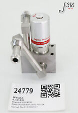 24779 FUJIKIN DIAPHRAGM BLOCK VALVES, TYPE N.C. 0.5~0.6MPA 565994