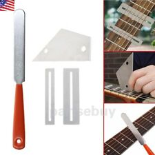 NEW Guitar Fret Crowning Luthier File Leveling Grinding Tool Kits Guitar Repair