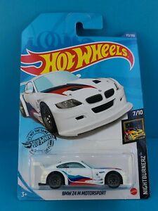 2020 Mattel Hot Wheels NIGHTBURNERZ 7/10 BMW Z4 M MOTORSPORT #172/250