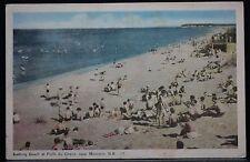 "MONCTON, NEW BRUNSWICK ""Bathing Beach at POINT DU CHENE, MONCTON N.B. #17""-1954"