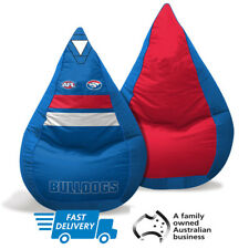 Western Bulldogs Kids Bean Bag | AFL Football | Footy