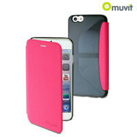 COQUE ETUI HOUSSE ★MUVIT EASY FOLIO★ IPHONE 6/6S PLUS ROSE CASE COVER