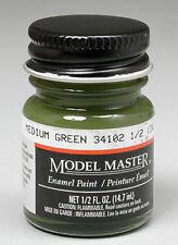 Testors Medium Green FS34102 1/2 oz Enamel Paint 1713 TES1713
