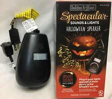 Holiday Brilliant Halloween Lights And Spooky Sounds Controller Motion Activated