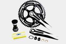 Aerozine X13 Road Cyclocorss CX Bike Crankset 10 11 Speed 50/34t 170mm 175mm