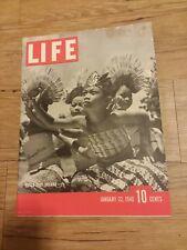 Life Magazine January 22, 1940 Dutch East  Indians