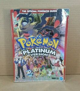 Pokemon Platinum Version Official Video Game Strategy Guide Nintendo DS - NO MAP