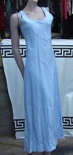 East 10 Azul Pálido hielo maravilloso Largo Completo Vestido Y Bolero Chaqueta que empareja