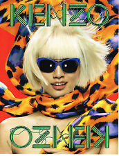 PUBLICITE  2013   KENZO  collection  optique