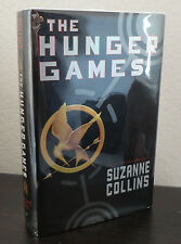 The Hunger Games Suzanne Collins HC 1st/5th 2008 near-perfect copy