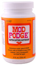 Plaid Mod Podge Satin Finish Decoupage Glues & Seals 8 oz CS11272
