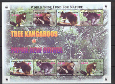 PNG 2003 WWF Tree Kangaroo/Endangered Species m/s s5908