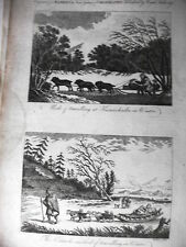 "RUSSIA,Kamischailka  Rame incisione dal ""New System Bankes di Geografia"" ca 1780"