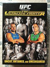 Ultimate Fighter - Season 1 (DVD, 2007, Multiple Disc Set). UFC DVD Set.