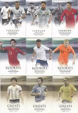 2020 Futera Unique Soccer Complete Base Set 1-120 with Rookies (120 Cards)