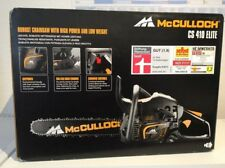 McCulloch Benzin Kettensäge CS 410 Elite NEU & OVP 38 cm Schwert, Motorsäge