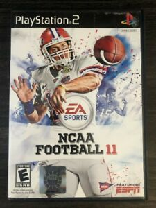 NCAA Football 11 (PlayStation 2, PS2)