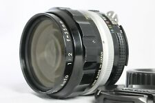 Good Nikon Nikkor-O Auto Converted-Ai 35mm f2 Manual Lens from Japan