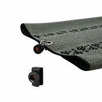 New Frogger TRAX Gray Golf Towel with Latch it System and Free Champ Golf Tees