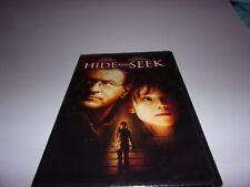 Hide and Seek (DVD, 2005, Widescreen) Robert Deniro, Dakota Fanning / New