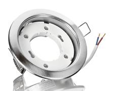 Metall Einbaustrahler GX53 eisengebürstet Einbauspot ideal für LED