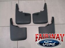 11 thru 16 SuperDuty OEM Ford Heavy Duty Splash Guards Mud Flaps 4pcs SWD