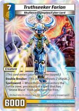 Kaijudo X1 TRUTHSEEKER FORION Super Rare S6/S10 7CLA Clash of DUEL MASTERS 2013