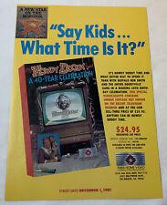 1987 vhs trade ad ~ HOWDY DOODY ~ A 40 Year Celebration