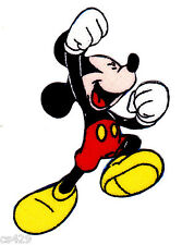 """2.5"""" Disney mickey 5 poses fabric applique iron on character"""