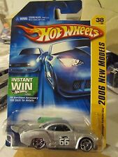 Hot Wheels Volkswagen Karmann Ghia Silver Instant Win Card