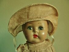 Antique Vintage Composition Girl Doll, 12""