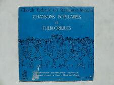 chorale d enfants Scoutisme Chansons populaires et folkloriques LDE 1026