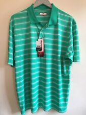 Grand Slam Men's Shirt Size XL Dry Fast Technology Motion Flow Aqua Green New