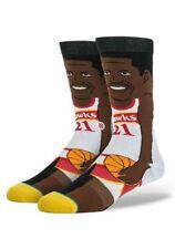Stance NBA Legends Collection Crew Socks - Dominique Wilkins Cartoon - L (9-12)